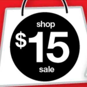 $15 sale- Clearance Red Tag. Free shipping $50+